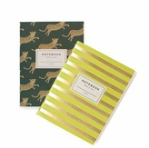 Rifle Paper Co. Leo Notebook with 32 blank pages - Set of 2