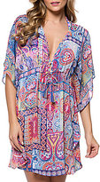 Bleu Rod Beattie New Cool Caftan Cover-Up