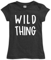 Urban Smalls Charcoal 'Wild Thing Fitted' Tee - Toddler & Girls