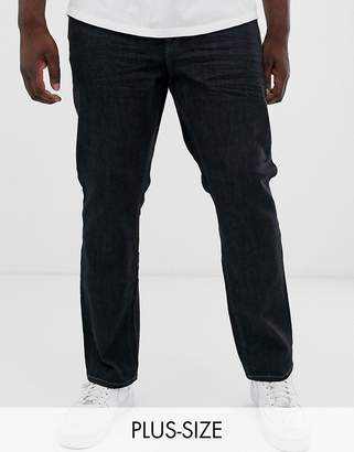 ONLY & SONS slim fit jeans in dark blue rinse