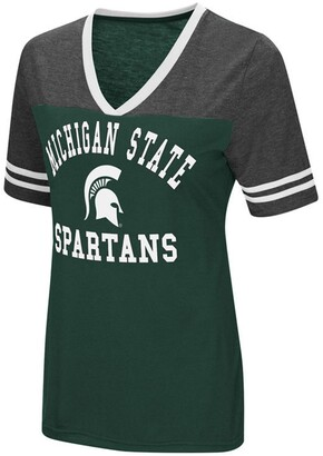 Colosseum Women's Michigan State Spartans Whole Package T-Shirt