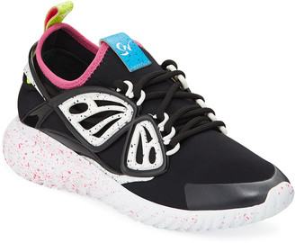 Sophia Webster Fly By Knit Scuba Sneakers