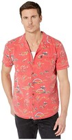 Rip Curl Velzy Short Sleeve Shirt (Red) Men's Clothing
