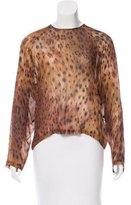 Roseanna Leopard Print Hope Top w/ Tags