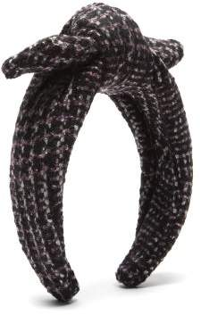 Lafayette House Of Houndstooth Bow Headband - Womens - Multi
