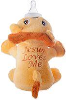 "Bed Bath & Beyond Leo the Lion ""Jesus Loves Me"" Bottle Pet"