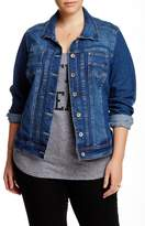 Live A Little Denim Jacket (Plus Size)
