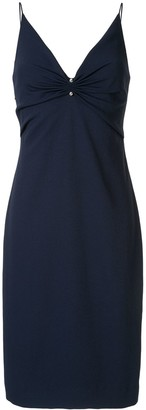 Dion Lee Pierced Slip Dress