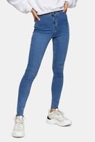 Topshop Bleach Raw Hem Joni Skinny Jeans