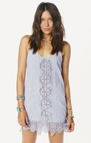 Nightcap Clothing embroidered tank dress