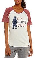 The North Face Americana Short Sleeve Baseball Tee