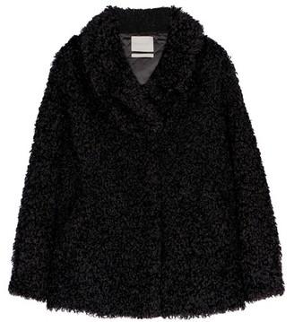 Momoni Inanna Coat In Eco-Fur
