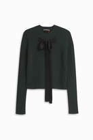 Rochas Ribbon Tie Sweater