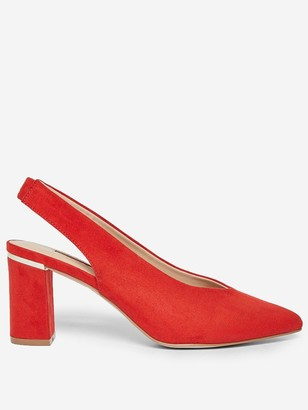 Dorothy Perkins Emily Court Shoe - Orange