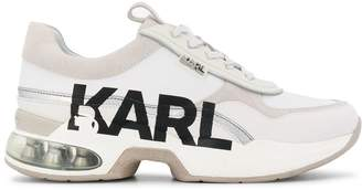 Karl Lagerfeld Paris panelled chunky-sole sneakers