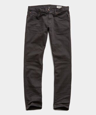 Todd Snyder Slim Fit 5-Pocket Chino In Faded Black