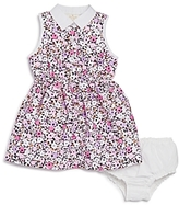 Kate Spade Girls' Floral Print Shirtdress & Bloomers Set - Baby