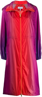 Escada Sport Hooded Zipped Raincoat