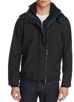 Superdry Nylon Hooded Zip Front Jacket