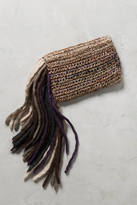 Lorenza Gandaglia Fringed-Yarn Clutch