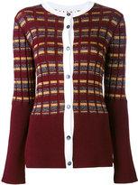 Marni single breasted cardigan - women - Nylon/Polyester/Acetate/Virgin Wool - 38