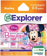Leapfrog Explorer Learning Game: Disney Minnie's Bow-tique Super Surprise Party