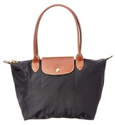 Longchamp Le Pliage Small Nylon Tote.