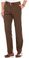 Murano Alex Modern Slim-Fit Flat-Front Houndstooth Pants
