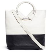 Sam Edelman 'Elina' ring handle colourblock leather crossbody bag