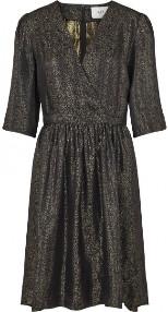 Just Female Audrey Dress Gold Lurex - XS