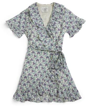 LES COYOTES DE PARIS Terri Wrap Dress (8-16 Years)
