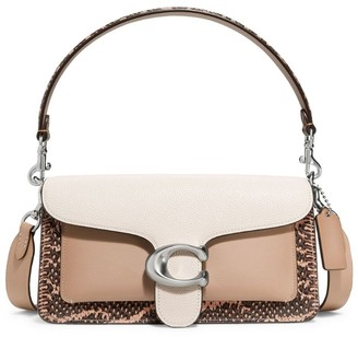 Coach Tabby Snakeskin Shoulder Bag