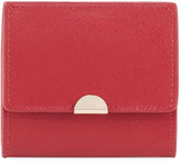 Neiman Marcus Saffiano Flap Card Coin Pouch