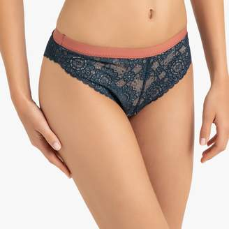 La Redoute Collections Lace Mini Knickers