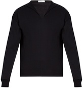 Boglioli Long-sleeved cotton blend sweater