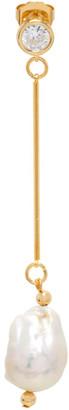 Mounser Gold Single Comber Earring