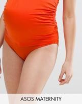 Asos Wrap Over Deep Bikini Bottom