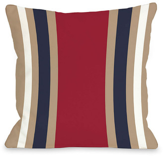 One Bella Casa Americus Stripe Decorative Pillow