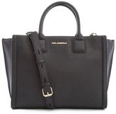 Karl Lagerfeld Women's K/Klassik Office Tote Bag Black