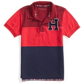 Tommy Hilfiger Signature Pieced Polo