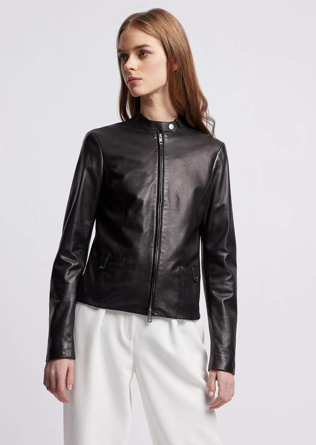 44c6e85c3 Biker Jacket In Glove-Like Nappa Leather