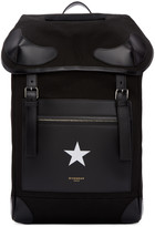 Givenchy Black Canvas Rider Backpack