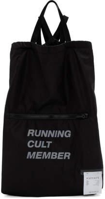 Satisfy Black Gym Backpack
