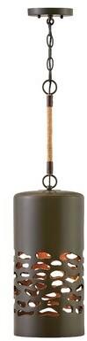 Hinkley Calder 1 - Light Single Cylinder Pendant