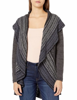 Angie Women's Shawl Collar Sweater Cardigan