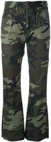 MM6 MAISON MARGIELA camouflage print trousers - women - Cotton - 40