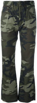MM6 MAISON MARGIELA camouflage print trousers - women - Cotton - 44