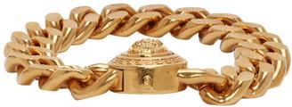 Versace Gold Large Chain Medusa Bracelet