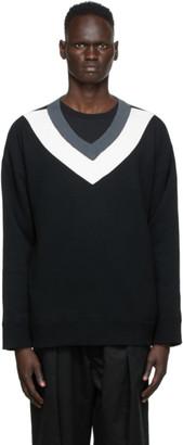 Undercover Multicolor V-Neck Sweater