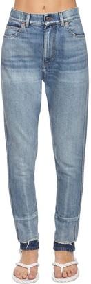 Valentino Back Go Logo Slim Fit Denim Jeans